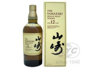 山多利(山崎)12年麦芽威士忌